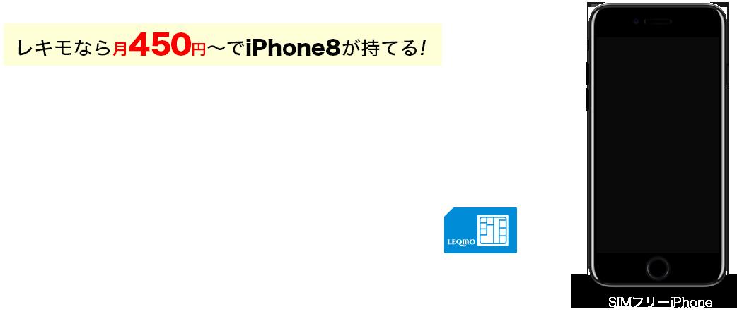レキモでiPhoneを使おう